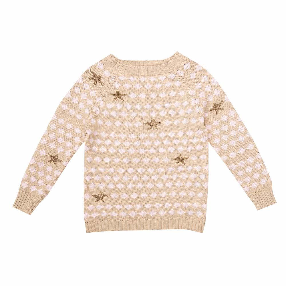Bella & Lace girls knitted jumper at Tiny People Shop Australia.