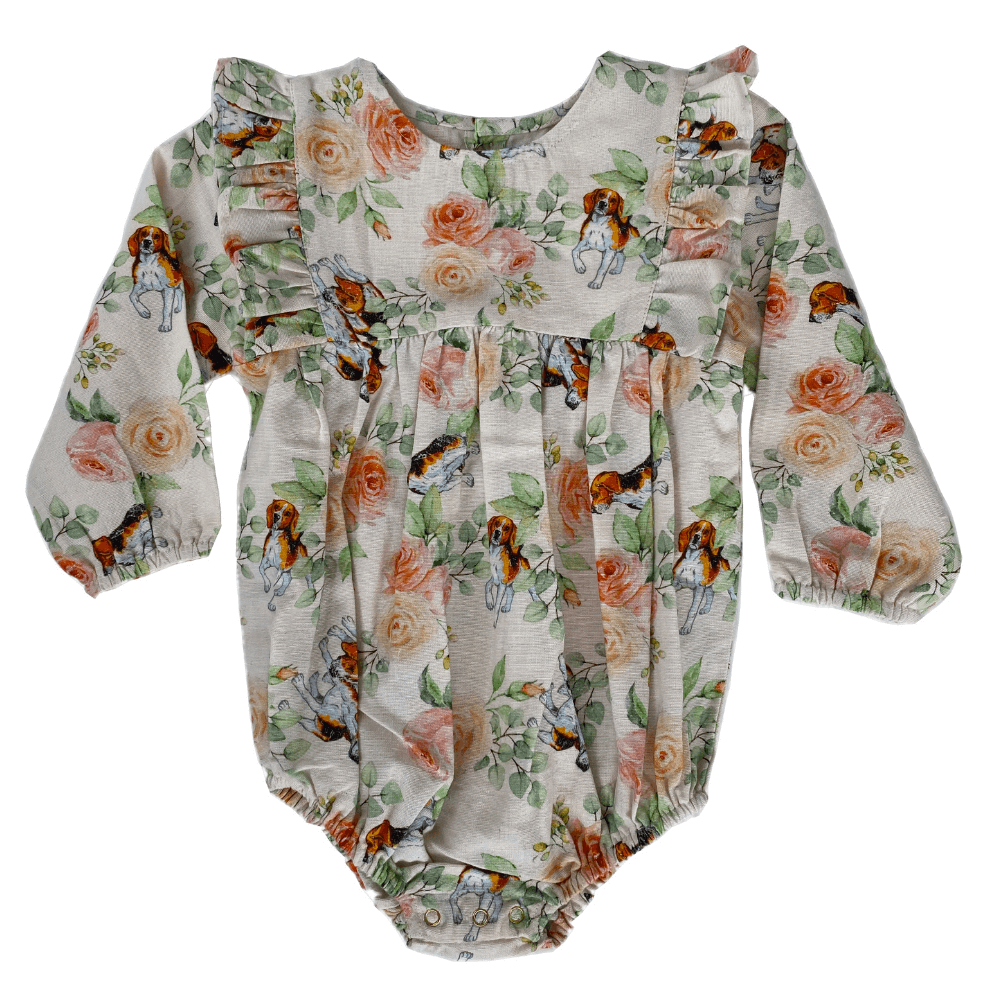 Bella & Lace Elizabeth Romper Hound | Tiny People
