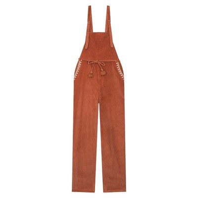 Louise Misha Women's Yungali Overalls Terracota Women's Jumpsuits - Tiny People Cool Kids Clothes