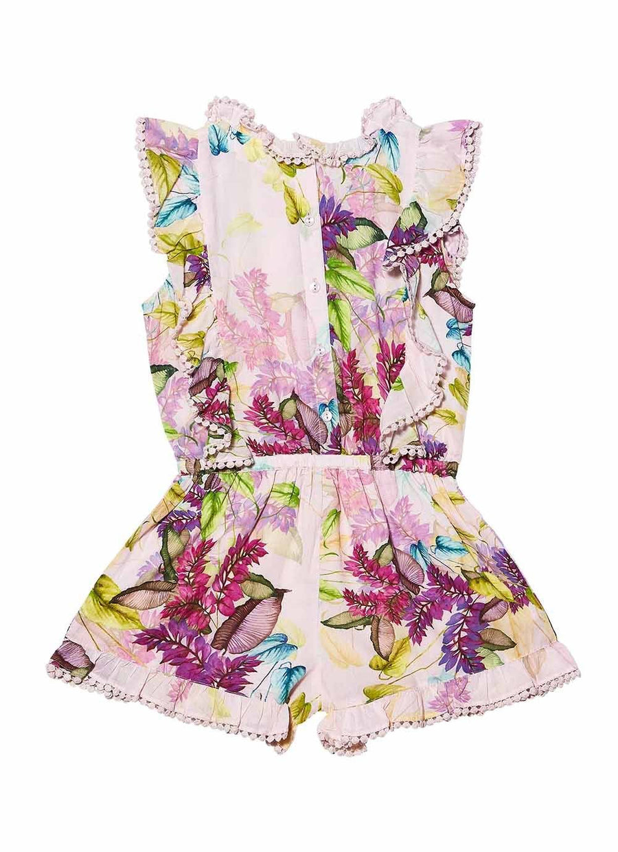 Tutu Du Monde Arctic Flowers Playsuit - Tiny People Cool Kids Clothes Byron Bay