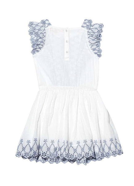 Tutu Du Monde Sweet Nettle Dress Milk - Tiny People Cool Kids Clothes Byron Bay