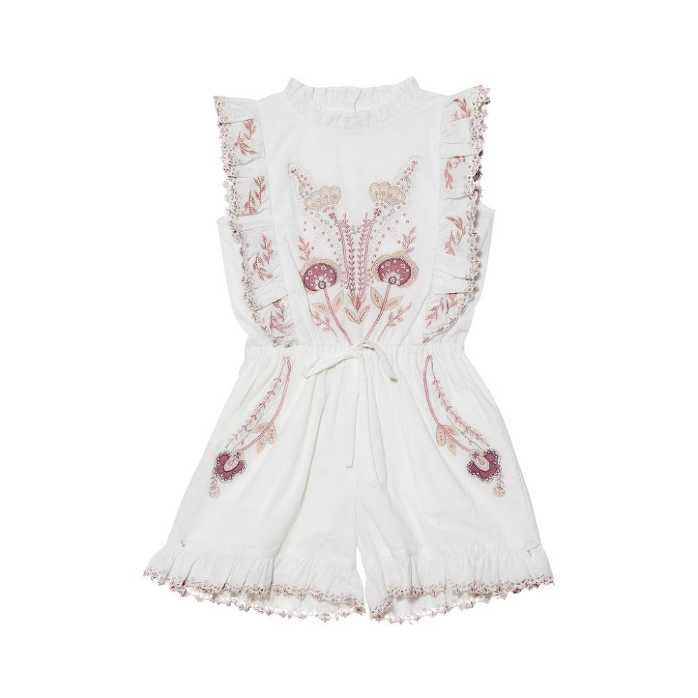 Musical Moment Playsuit Milk