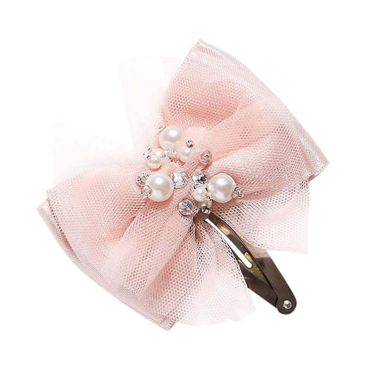 Take A Bow Hair Clip Ballet Slipper