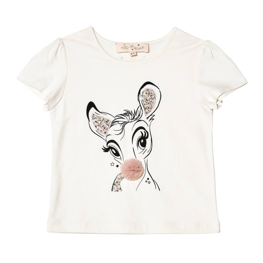 Tutu Du Monde Deery Me Tee Girls Tops & Tees - Tiny People Cool Kids Clothes