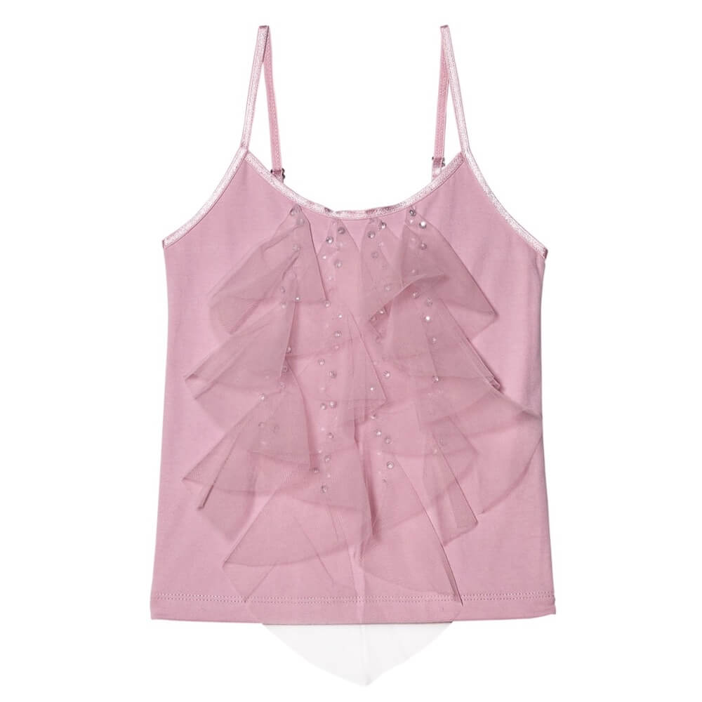 Tutu Du Monde Fly Away Singlet Geranium | Tiny People