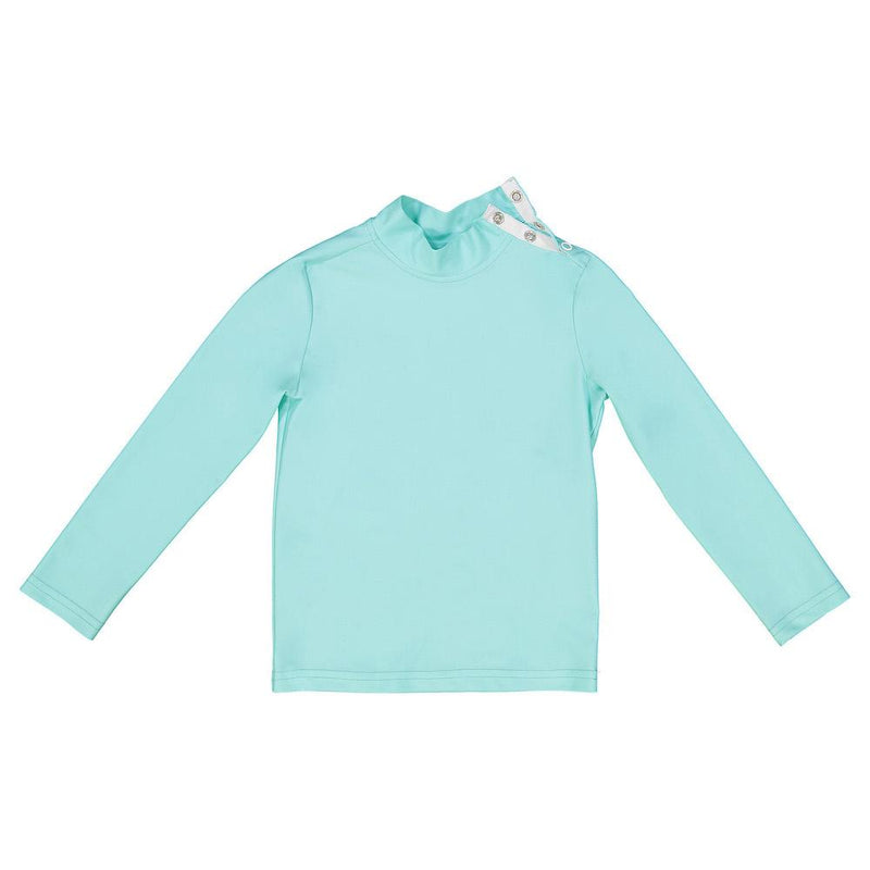 Turbot Rash Guard Aqua