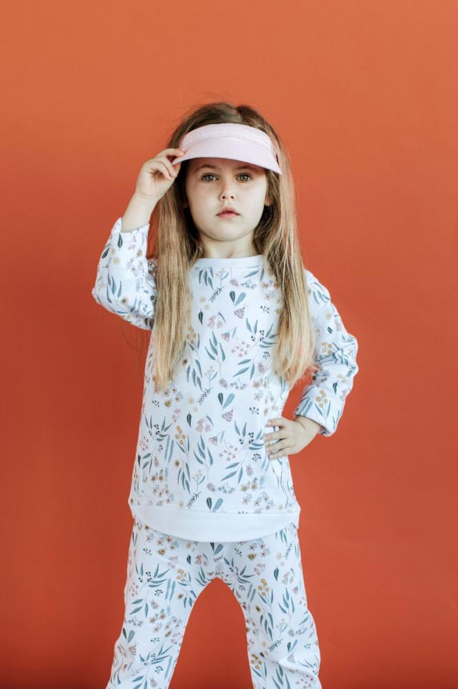 Tiny People Native Print Lightweight Terry Sweater - Tiny People Cool Kids Clothes Byron Bay