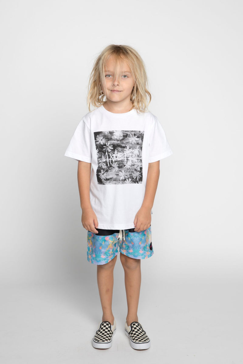 Munster Kids Toucs Tee - White - Tiny People Cool Kids Clothes Byron Bay