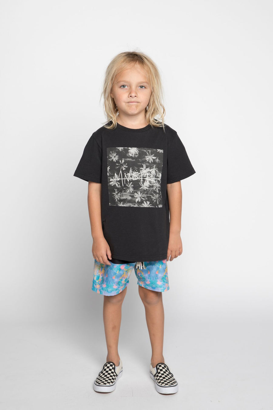 Munster Kids Toucs Tee - Black - Tiny People Cool Kids Clothes Byron Bay