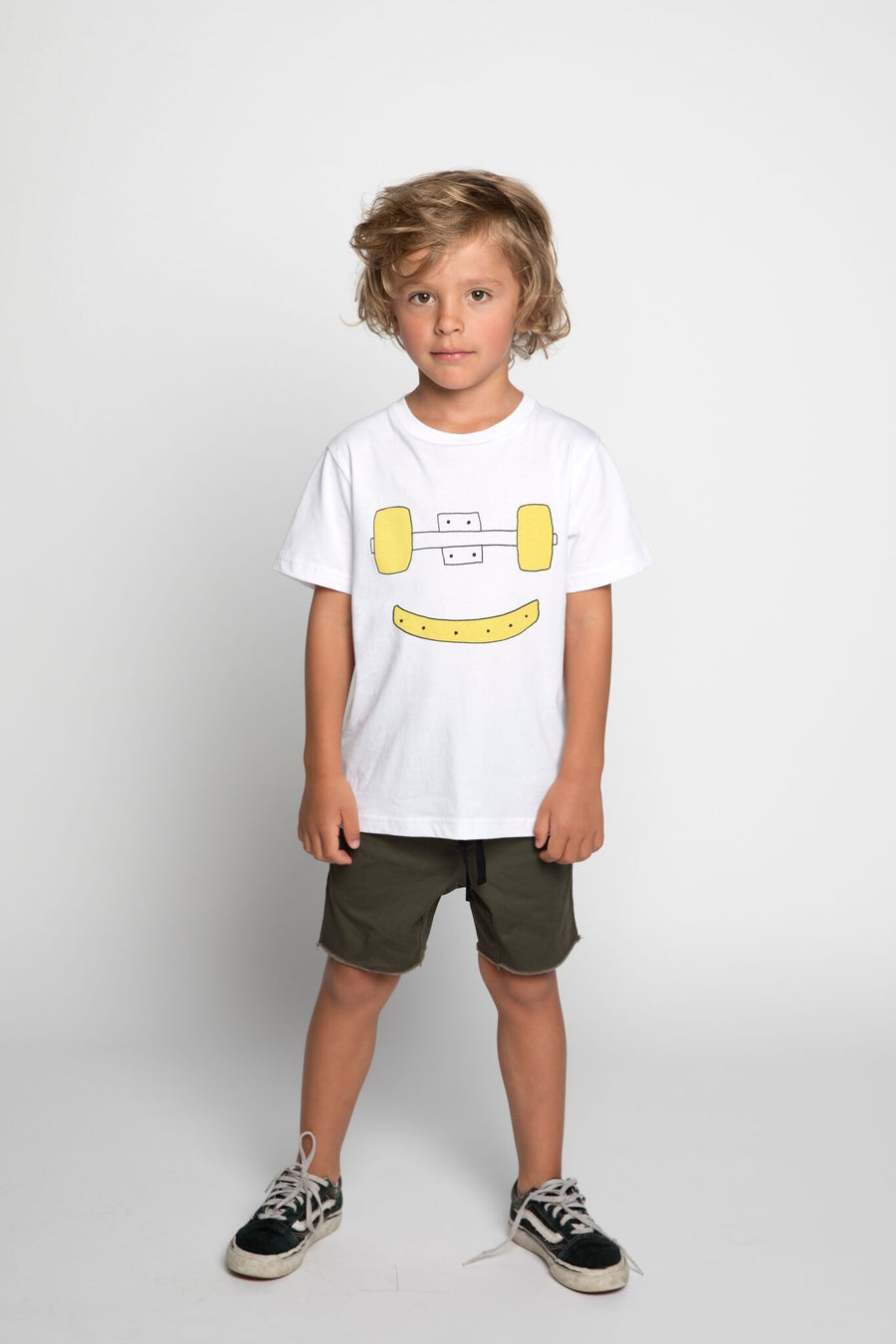 Munster Kids Truck Grin Tee - Tiny People Cool Kids Clothes Byron Bay