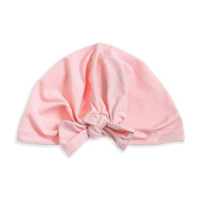 Tiny People Tie Front Turban - Peach - Tiny People Cool Kids Clothes Byron Bay