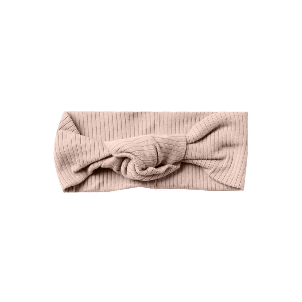 Quincy Mae Ribbed Turban Petal | Tiny People