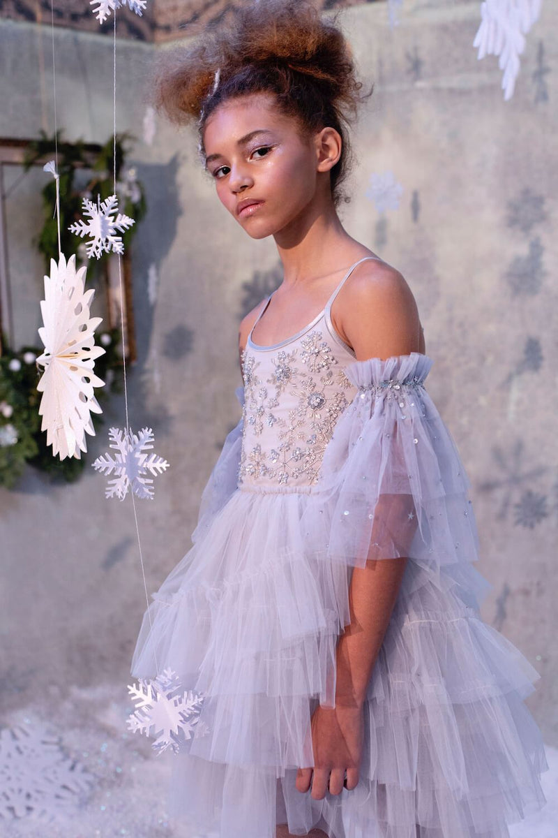 Tutu Du Monde Frozen In Time Tutu Dress Girls Dresses - Tiny People Cool Kids Clothes