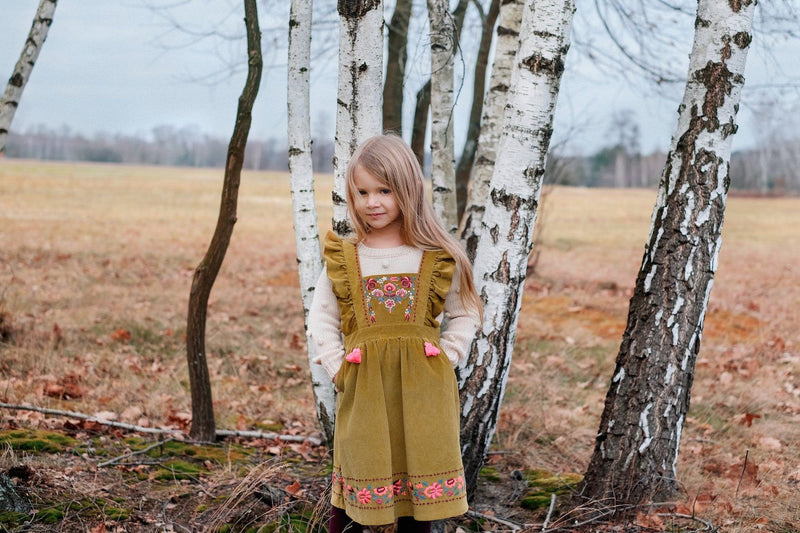 Louise Misha Uroma Dress Beewax - Tiny People Cool Kids Clothes Byron Bay