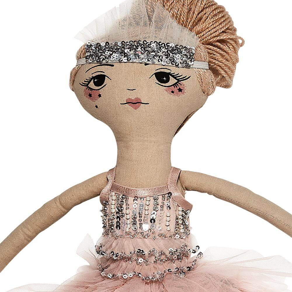 Tutu Du Monde Tinsel Doll Ballet Slipper | Tiny People