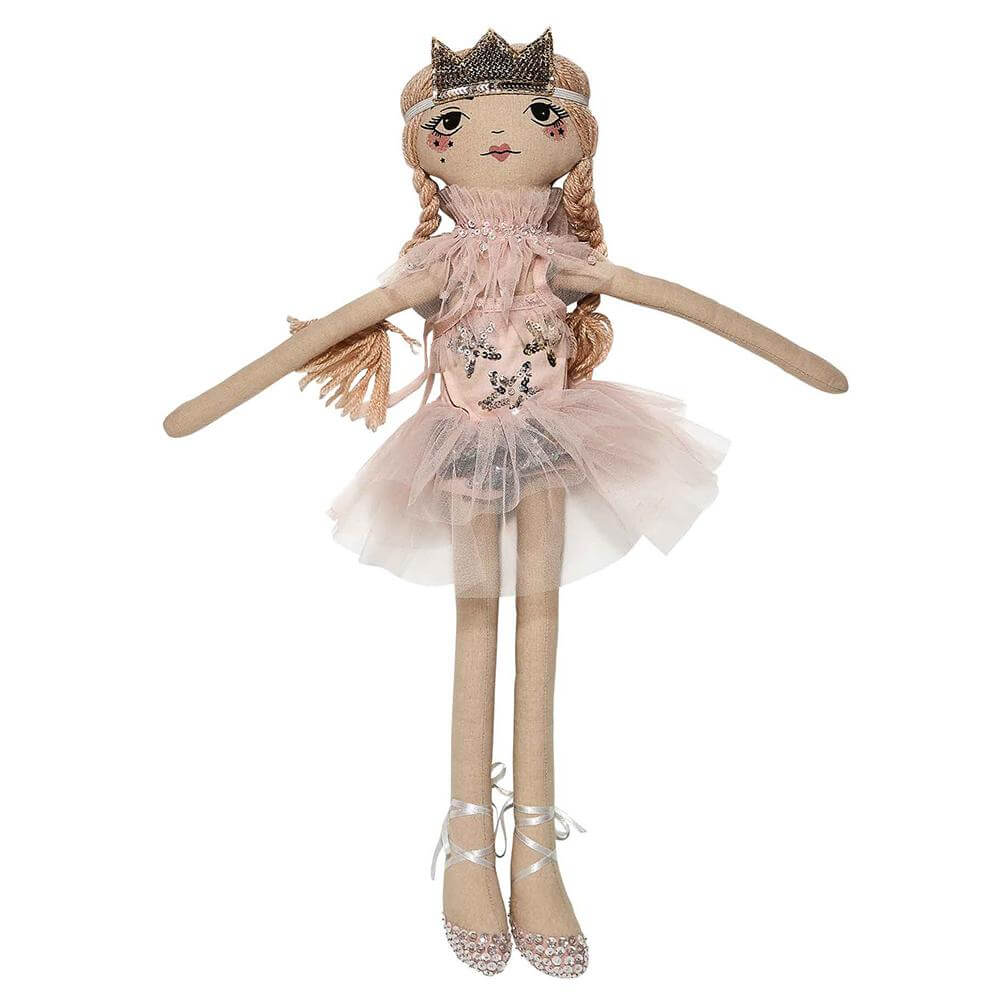 Tutu Du Monde Estella Doll Ballet Slipper | Tiny People