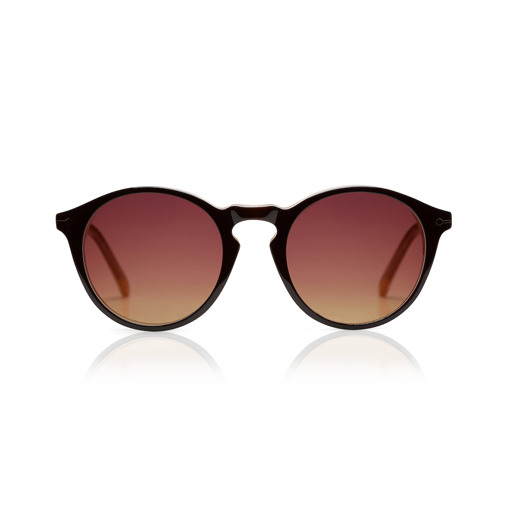 Sons + Daughters Eyewear Clark Sun (Chocolate Layer) Sunglasses - Tiny People Cool Kids Clothes