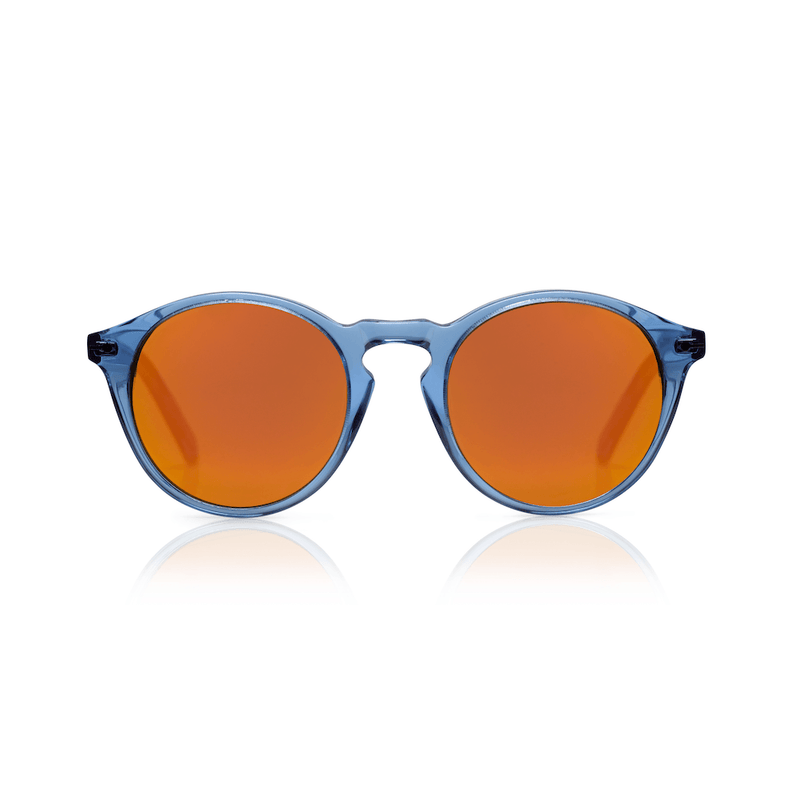 Sons + Daughters Eyewear Clark Sun (Blue Jelly) Sunglasses - Tiny People Cool Kids Clothes