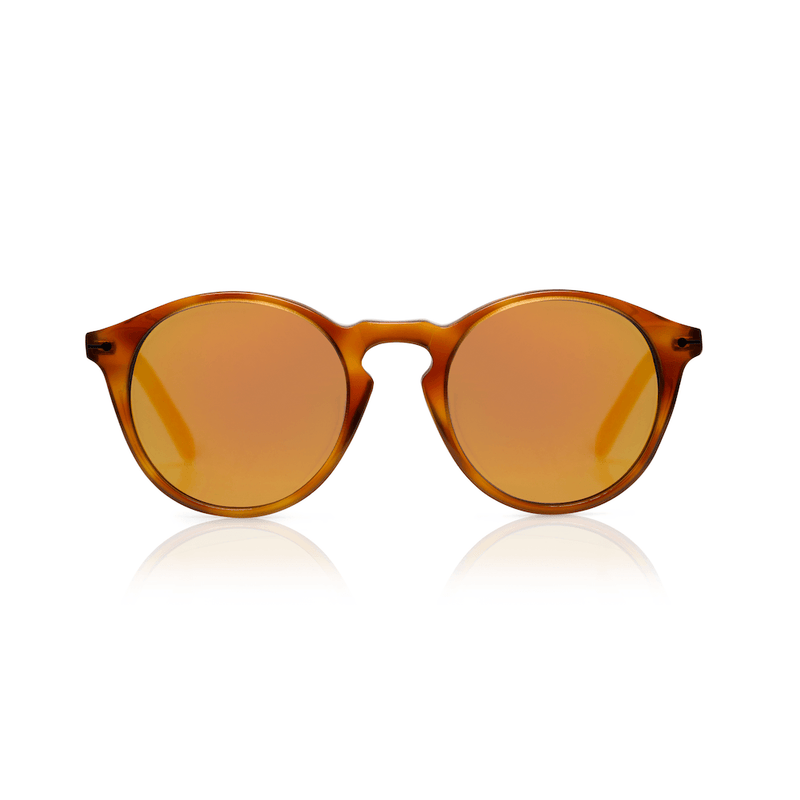 Sons + Daughters Eyewear Clark Sun (Creme Brulee) Sunglasses - Tiny People Cool Kids Clothes