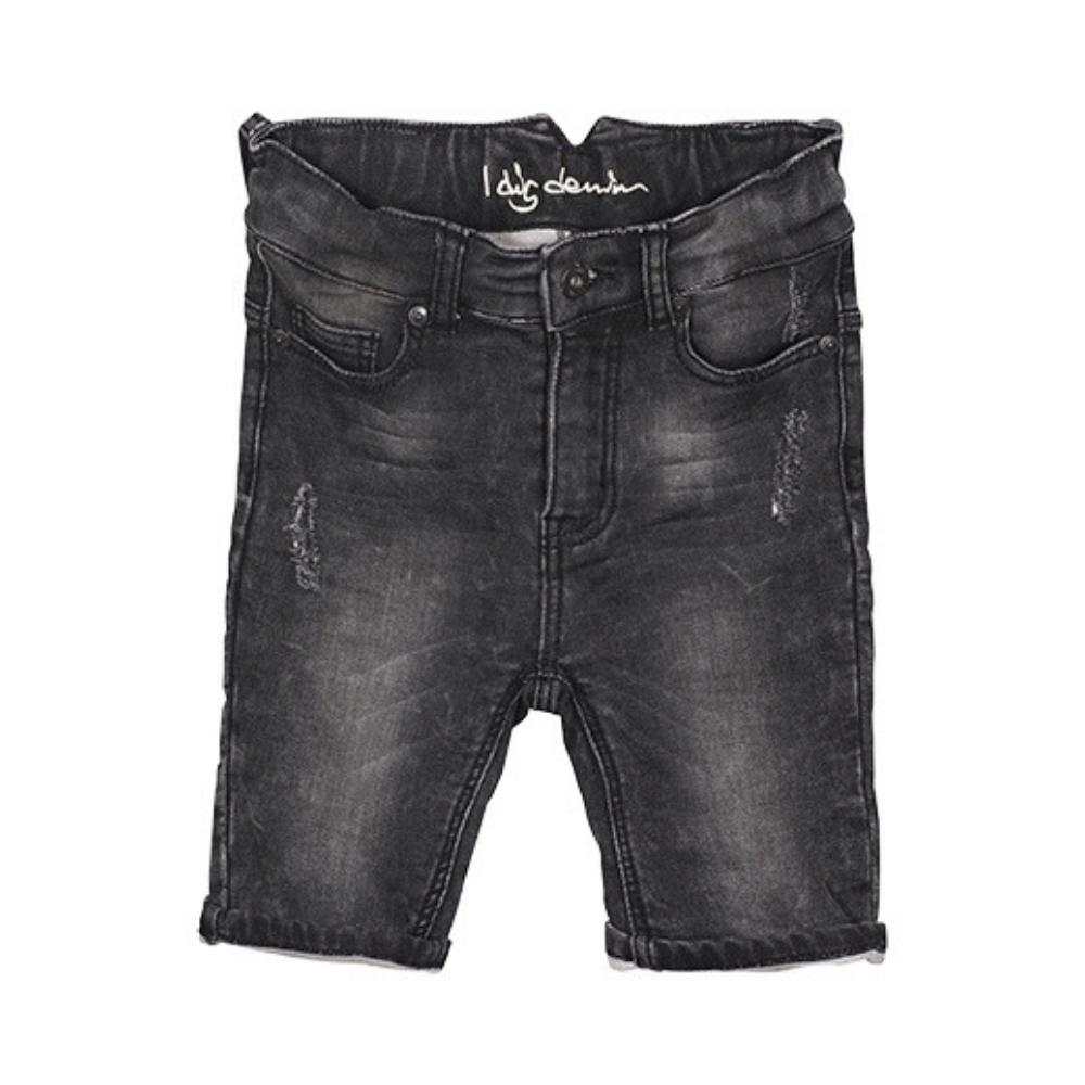I Dig Denim Arizona Jogger Shorts Black Shorts - Tiny People Cool Kids Clothes