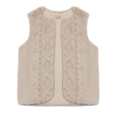 Louise Misha Women's Varvara Gilet Cream - Tiny People Cool Kids Clothes Byron Bay