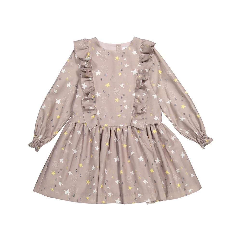 Knot Distant Star Dress Dresses - Tiny People Cool Kids Clothes