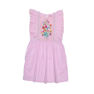 Coco & Ginger Viola Dress Stripped Pink - Tiny People Cool Kids Clothes Byron Bay