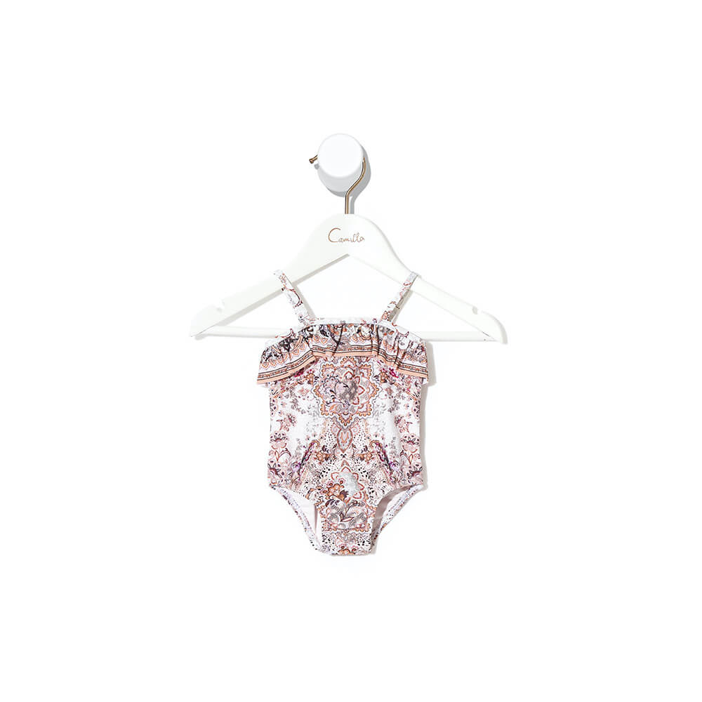 Camilla Tales of Talitha Baby One Piece with Frill | Tiny People