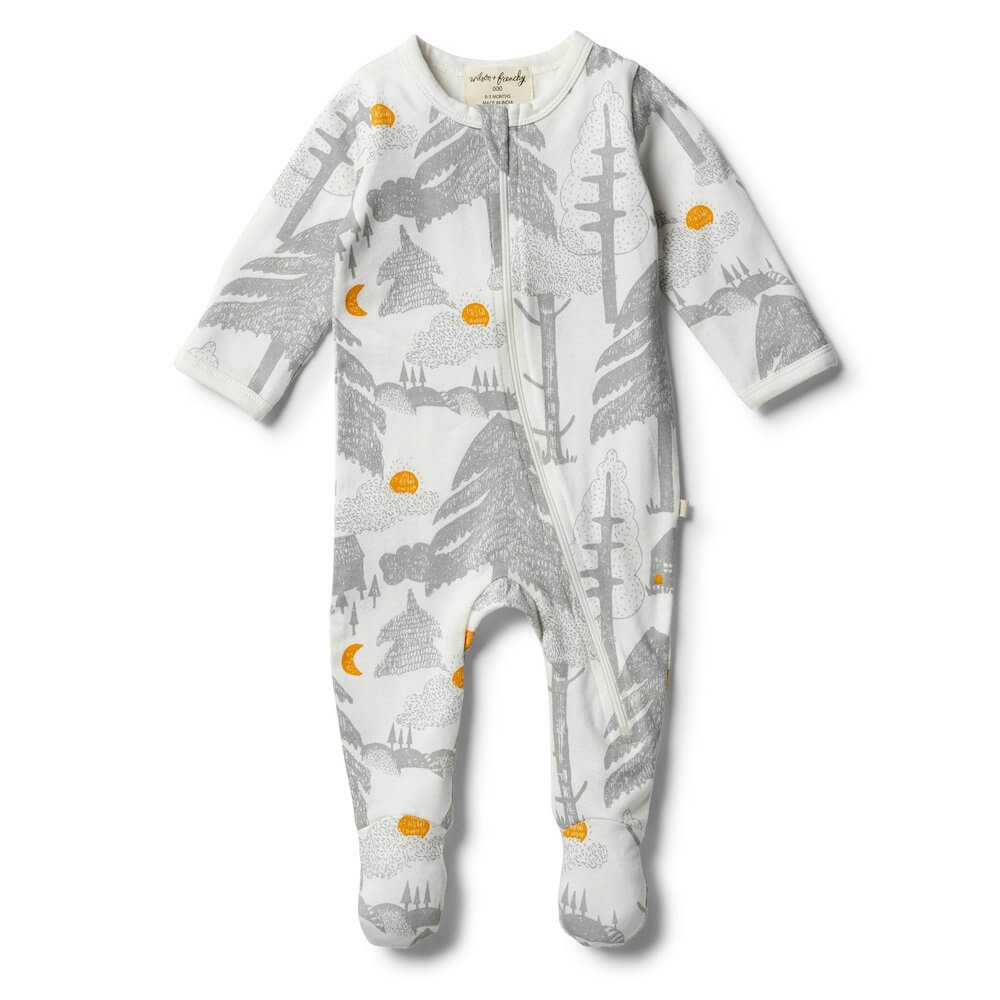 Wilson & Frenchy Little Wander Zipsuit | Tiny People