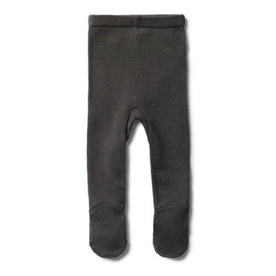 Wilson and Frenchy Knitted Leggings With Feet - Dark Moon - Tiny People Cool Kids Clothes Byron Bay