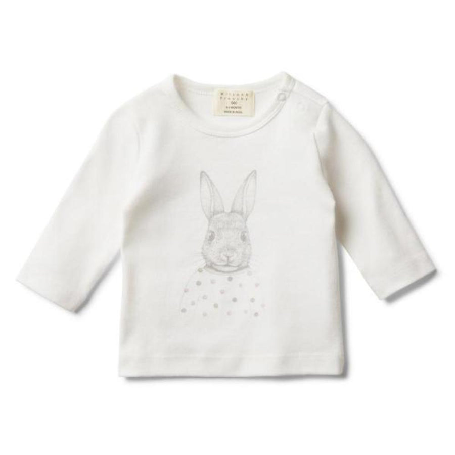 Wilson and Frenchy Bunny Love Long Sleeve Top - Tiny People Cool Kids Clothes Byron Bay