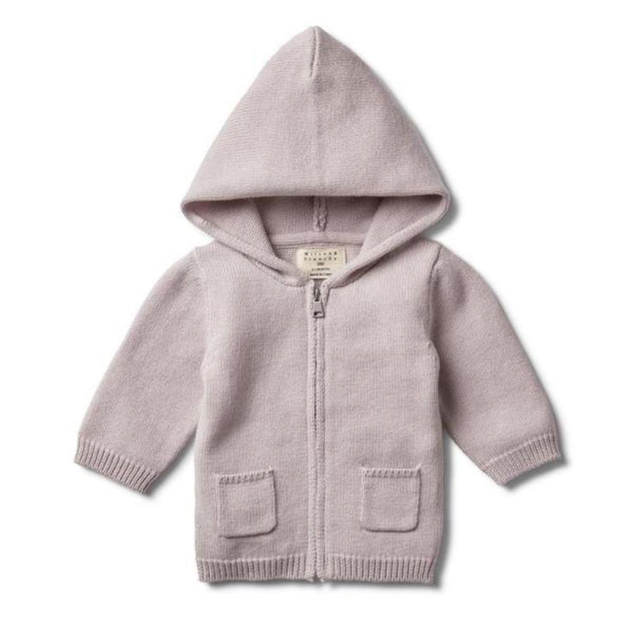 Wilson and Frenchy Knitted Zip Through Jacket - Fawn - Tiny People Cool Kids Clothes Byron Bay
