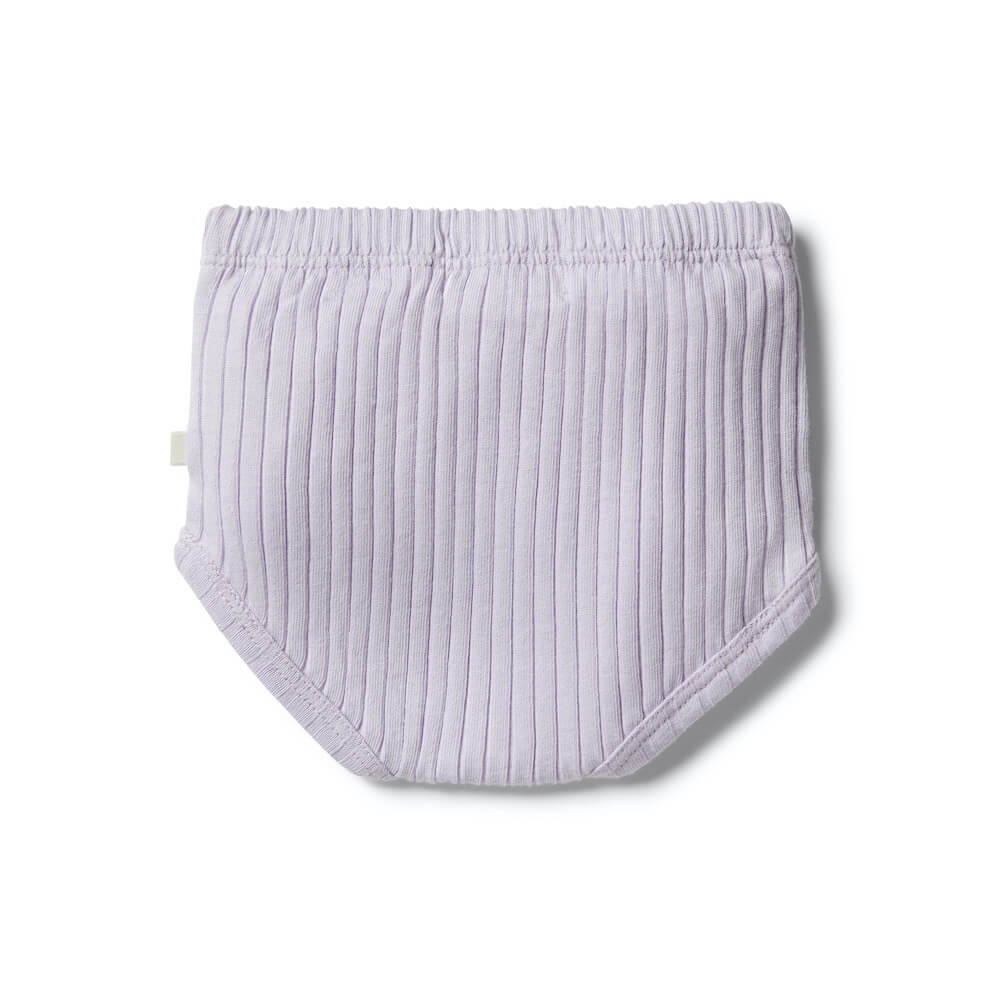 Wilson & Frenchy Organic Nappy Pant Lavender | Tiny People