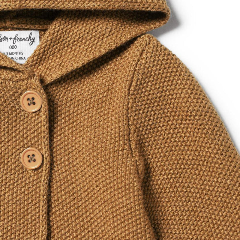 Knitted Jacket Caramel