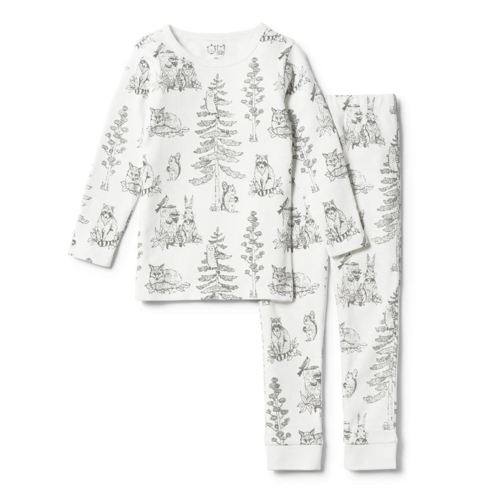 Petite Foret Long Sleeve Pyjama Set