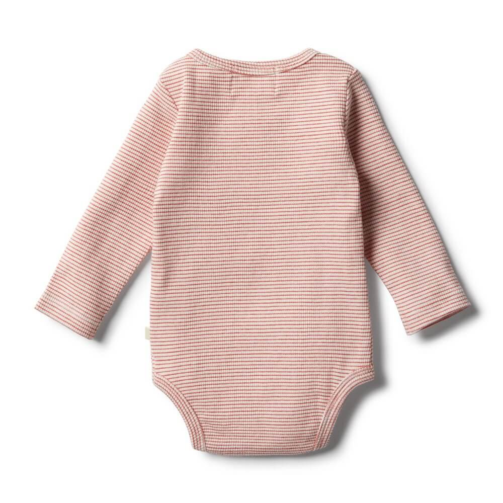 Wilson & Frenchy Organic Chilli Bodysuit | Tiny People