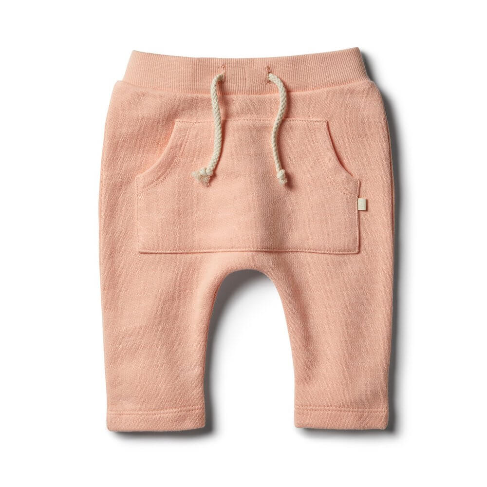 Wilson & Frenchy Tropical Peach Speckle Slouch Pant | Tiny People