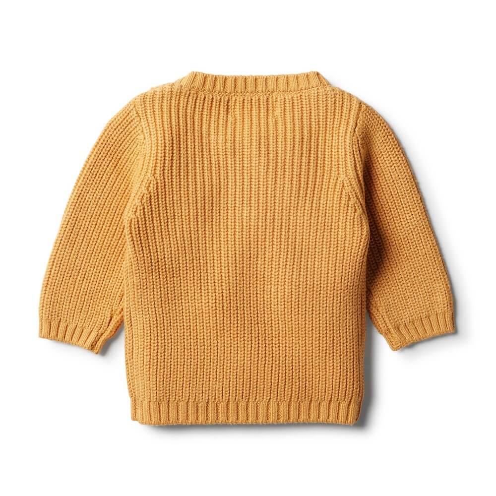 Wilson & Frenchy Golden Apricot Spot Jumper | Tiny People