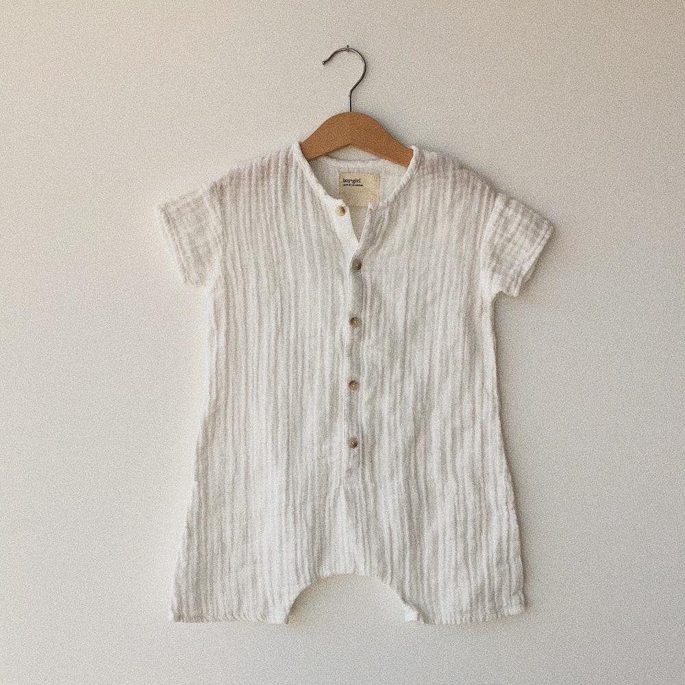 Wills romper by Boy + Girl at Tiny People Shop Australia.