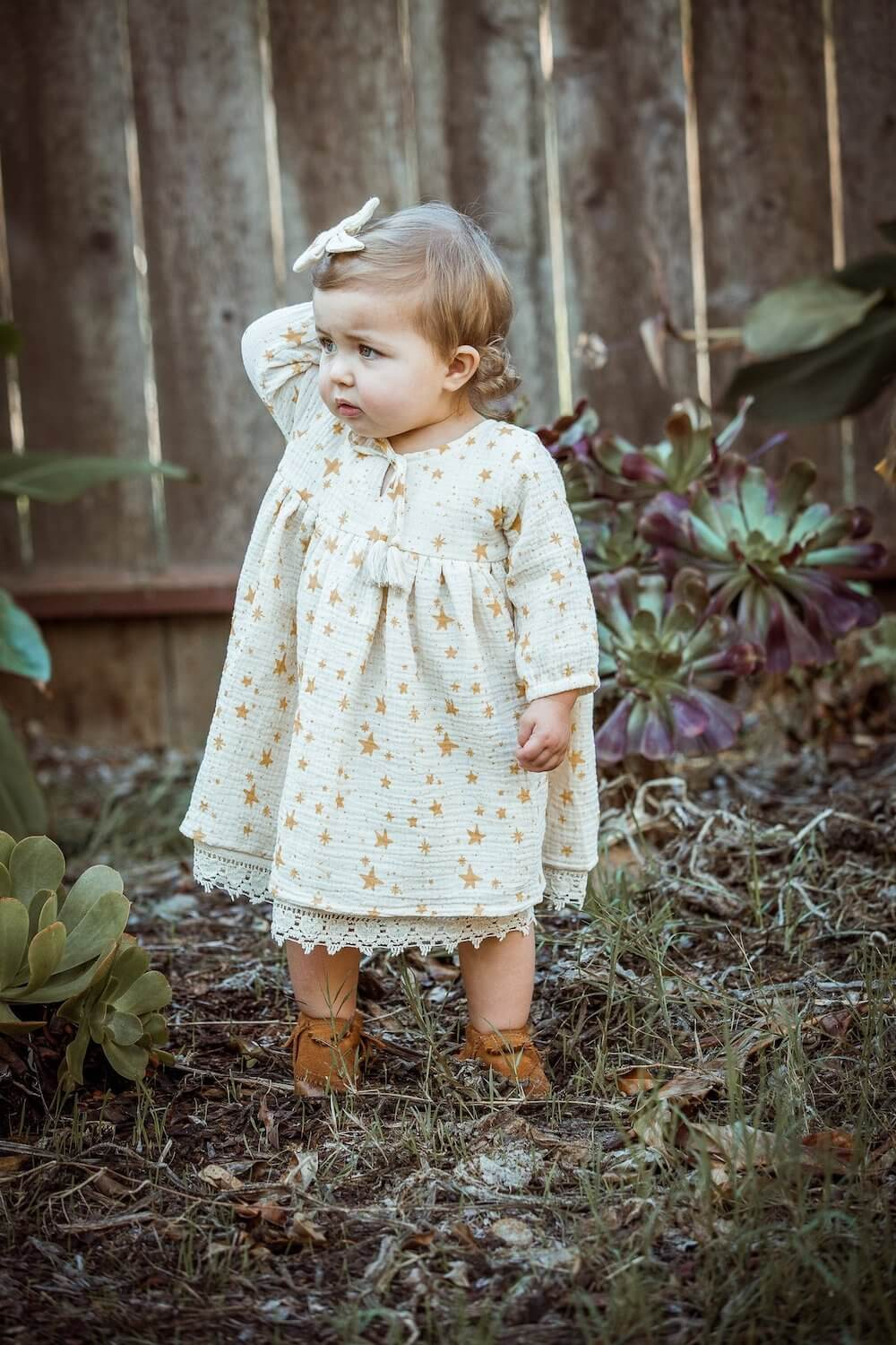 Wild Wawa Lailah Dress Cloud | Tiny People