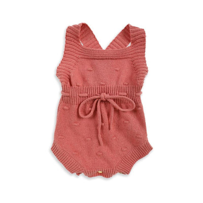 Tiny People Willa Knit Romper - Tiny People Cool Kids Clothes Byron Bay