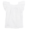 Fox & Horn Wing Top - White - Tiny People Cool Kids Clothes Byron Bay