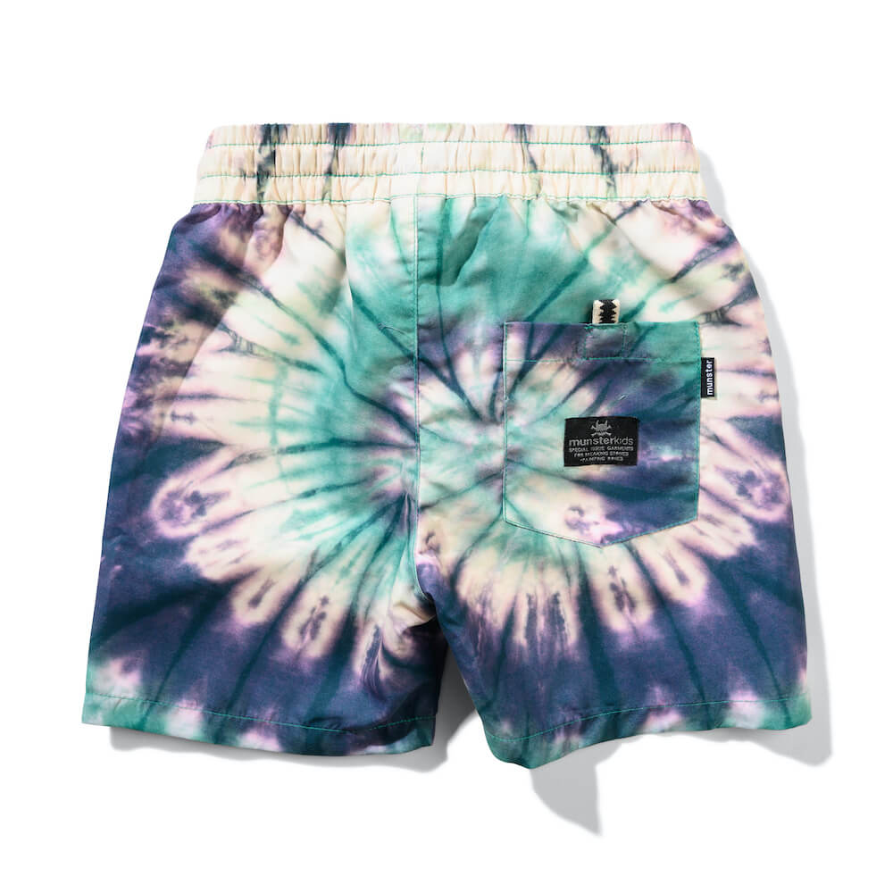Munster Xray 2 Boardshort Green Dye | Tiny People Shop