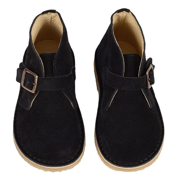 Young Soles Harry Desert Boot Black - Tiny People shop