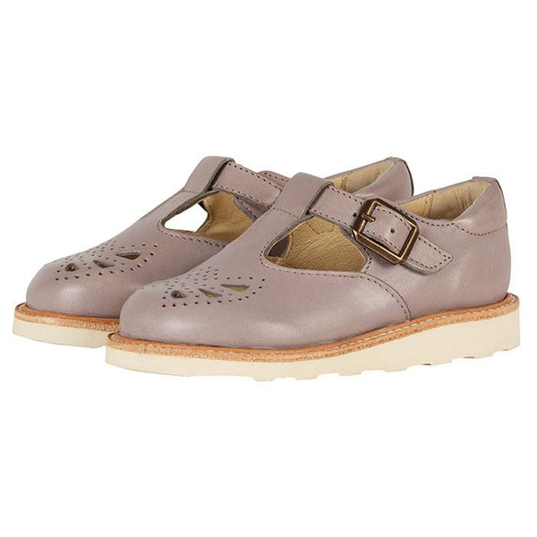 Young Soles Rosie T-Bar Shoe Cloud Grey - Tiny People shop