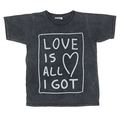 Zuttion Love Is All I Got S/S Round Neck T.