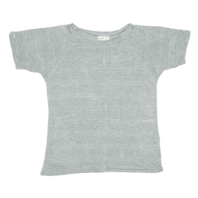 Cool boys Zuttion plain S/S Raglan grey t-shirt.