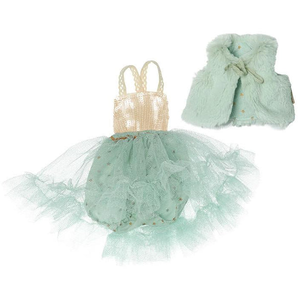 Maileg Ballerina Dress Mint - Tiny People Byron Bay