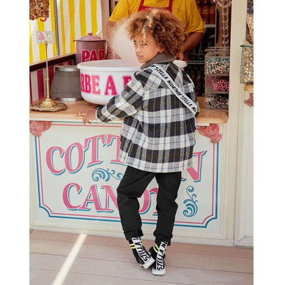Stella McCartney Checked Coat Jacket Outerwear - Tiny People Cool Kids Clothes