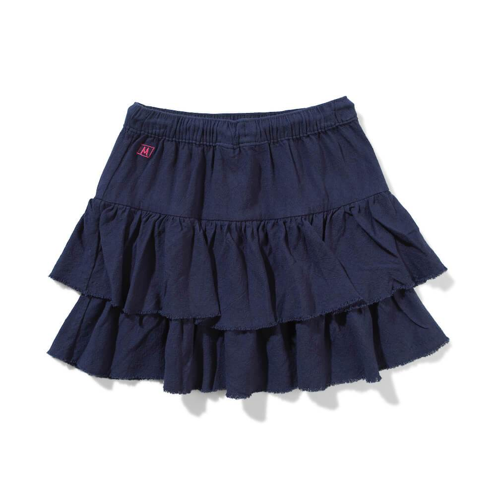 Missie Munster Arwen Cotton Linen Skirt Girls Skirts - Tiny People Cool Kids Clothes